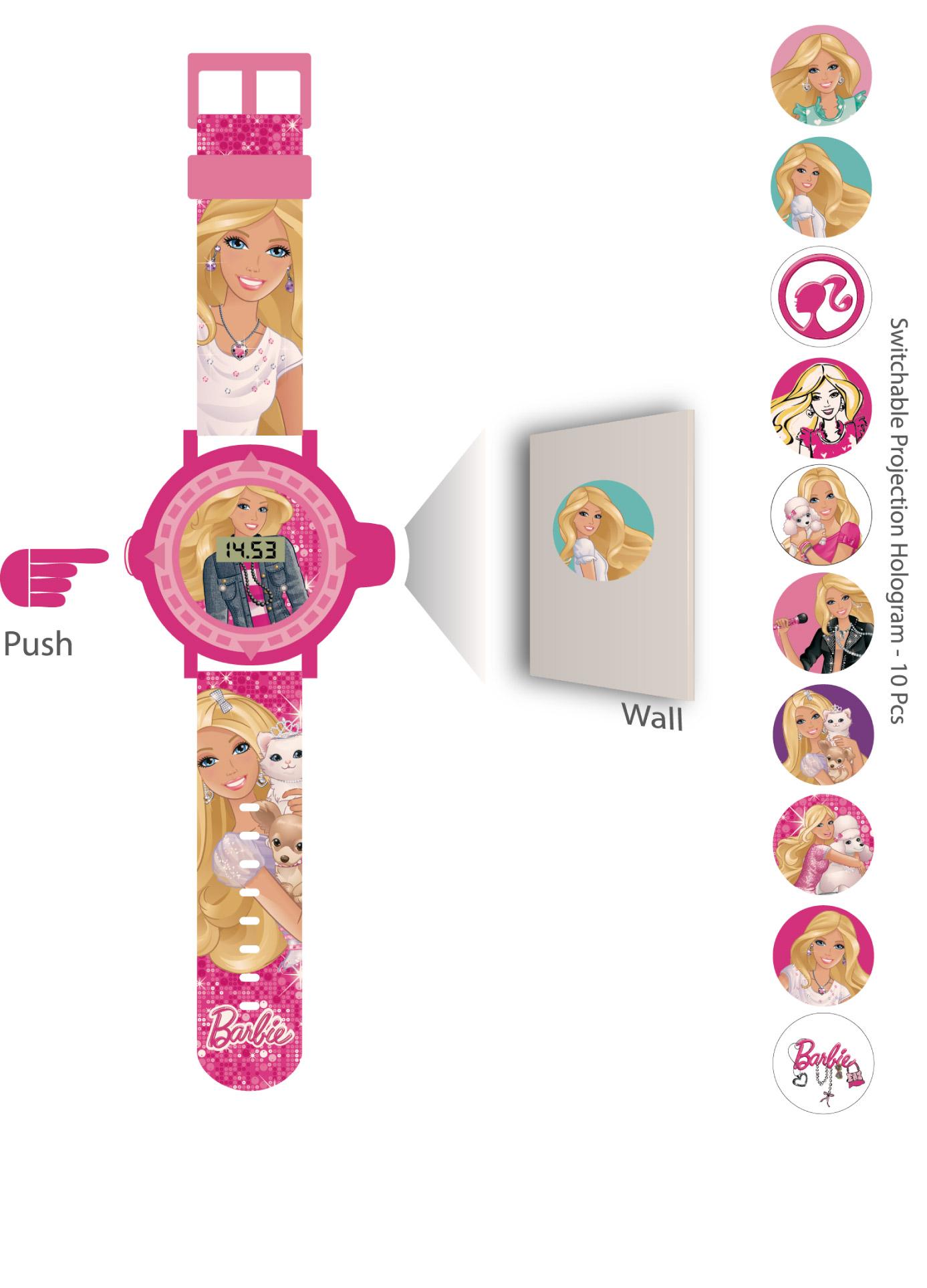 Lisanslı Barbie Kol Saati