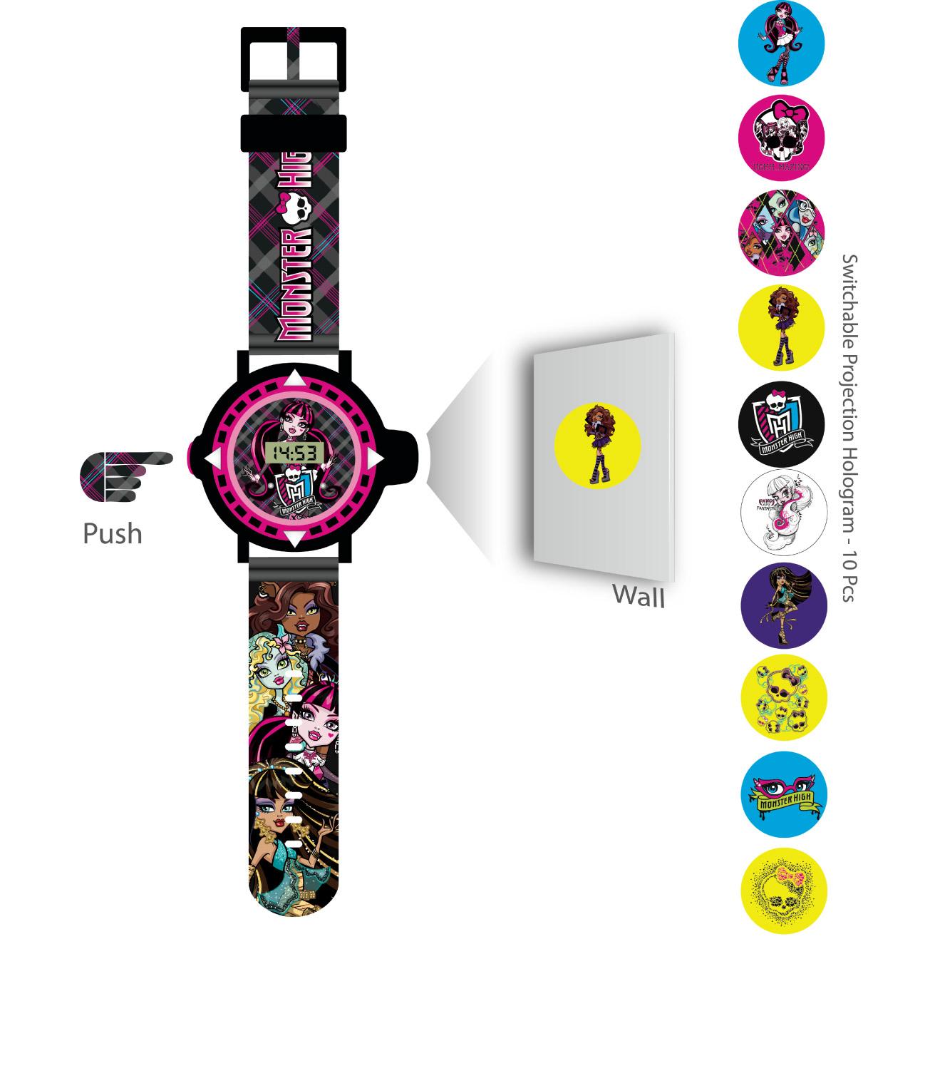 Lisanslı Monster High Kol Saati